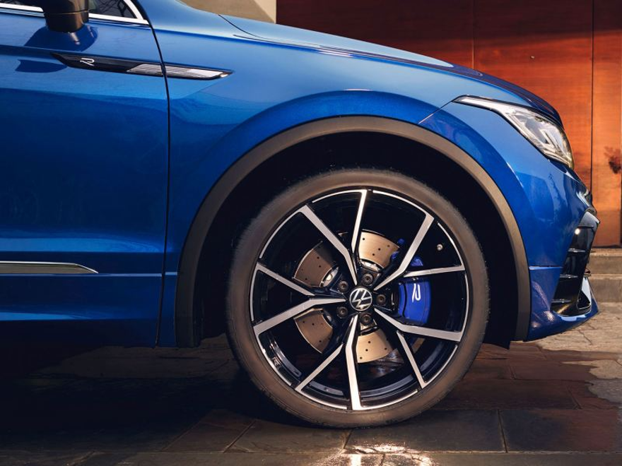 21-tommers Estoril felger på Volkswagen VW Tiguan R