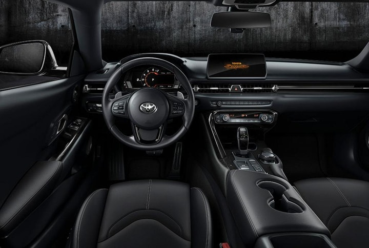 Foto: Kampanjebilde - 2019-Toyota-GR-Supra-night-interior_4_web.jpg