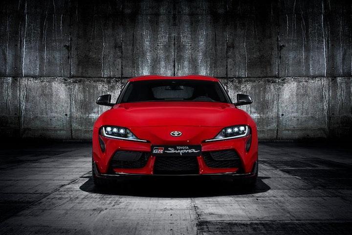 Foto: Kampanjebilde - 2019-Toyota-GR-Supra-red-studio-001_4_web.jpg