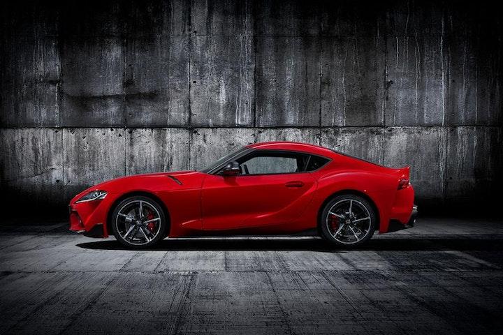 Foto: Kampanjebilde - 2019-Toyota-GR-Supra-red-studio-003_4_web.jpg